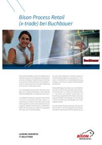 Die Buchbauer Betriebs-GmbH entscheidet sich für eine Ablösung der EDEKA-Eigenentwicklung EBUS und setzt zukünftig im Bereich Warenwirtschaft auf das Warenwirtschaftssystem Bison Process Retail in Verbindung mit der zentralen Filiallösung store der Bison Deutschland GmbH.
